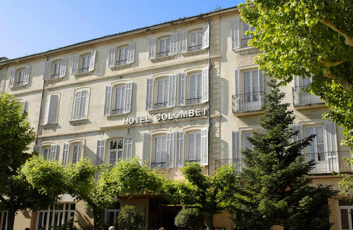 Hôtel Colombet - Extérieur