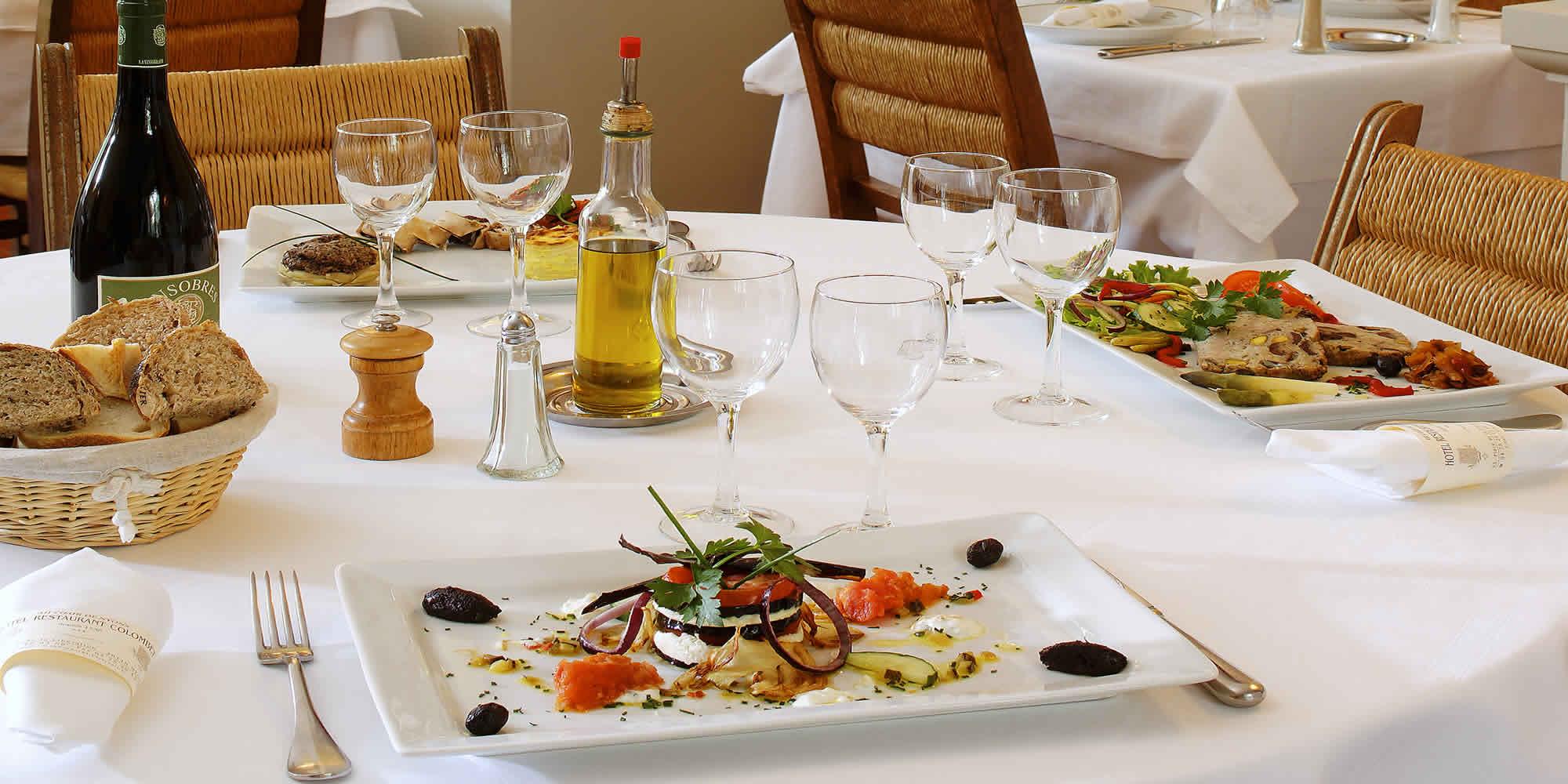 Hôtel Restaurant Colombet - Restaurant